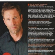 Five Minutes with Aaron Ekhart
