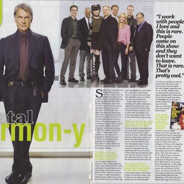 Total Harmon-y Mark Harmon Interview </br> TV Soap