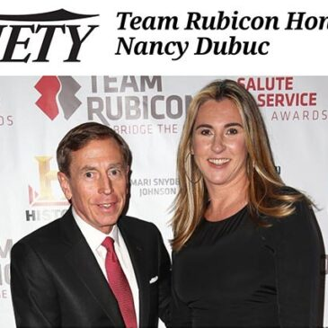 Team Rubicon Honors A&E's Nancy Dubuc</br>Variety