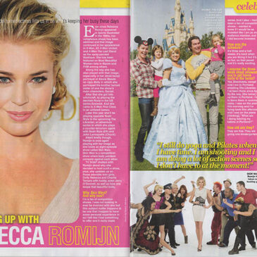 CATCHING UP WITH REBECCA ROMIJN</BR>TV Soap