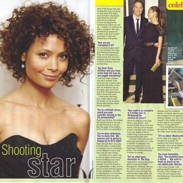Shooting Star Thandie Newton The Slap </br> TV Soap