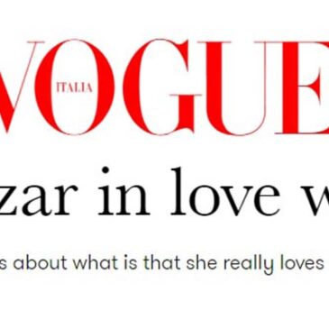 Debi Mazar in love with Italy</br>Vogue Italia